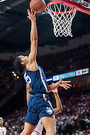 College Park, MD - DEC 29, 2016: Connecticut Huskies guard Gabby Williams (15) goes up for a lay up during the game between No. 1 UConn and the No. 3 Terrapins at the XFINITY Center in College Park, MD. UConn defeated Maryland 87-81. (Photo by Phil Peters/Media Images International)