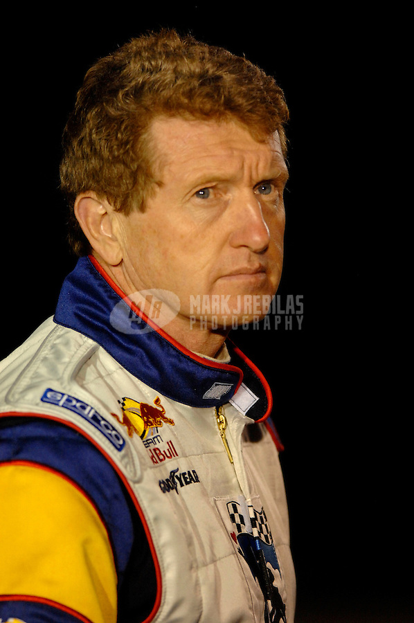 Oct 12, 2006; Concord, NC, USA; Nascar Nextel Cup driver Bill Elliott (83) during practice for the Bank of America 500 at Lowes Motor Speedway. Mandatory Credit: Mark J. Rebilas