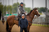 LOUISVILLE, KY - MAY 04: Trainers, Bill Mott and Mark Casse watch their contenders train at Churchill Downs on May 04, 2017 in Louisville, Kentucky. (Photo by Alex Evers/Eclipse Sportswire/Getty Images)