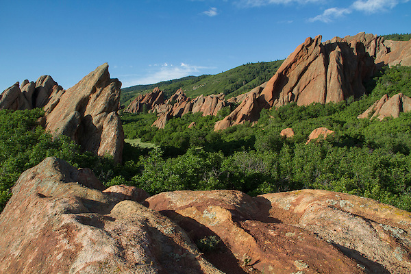 Sunrise at Roxborough State Park, near Denver, Colorado. John leads private photo tours throughout Colorado, year-round.