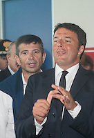 Matteo Renzi, presidente del consiglio, ospite al meeting di CL, Maurizio Lupi