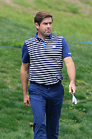 Robert Rock (ENG) on the 10th fairway during Round 3 of the Open de Espana 2018 at Centro Nacional de Golf on Saturday 14th April 2018.<br /> Picture:  Thos Caffrey / www.golffile.ie<br /> <br /> All photo usage must carry mandatory copyright credit (&copy; Golffile | Thos Caffrey)