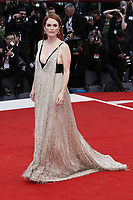 VENICE, ITALY - September 2nd: Julianne Moore attends the red carpet during 74th Venice Film Festival at Palazzo Del Cinema on September 2nd,, 2017 in Venice, Italy. (Mark Cape/insidefoto)