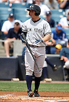 April 3, 2010:  Second Baseman David Adams (58) of the New York Yankees playing in the annual Futures Game during Spring Training at Legends Field in Tampa, Florida.  Photo By Mike Janes/Four Seam Images