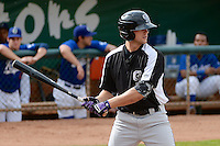 Ryan Garvey (6) of the Grand Junction Rockies at bat against the Ogden Raptors at Lindquist Field on September 8, 2013 in Ogden Utah.  (Stephen Smith/Four Seam Images)