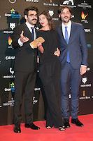 Natalia Tena attends the Feroz Cinema Awards 2015 at Las Ventas, Madrid,  Spain. January 25, 2015.(ALTERPHOTOS/)Carlos Dafonte) /NortePhoto<br /> <br /> nortePhoto.com