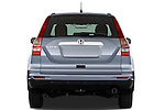 Straight rear view of a 2010 Honda CRV EX