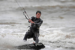 Round one of the British Kite Surfing Championships in Swansea Bay this weekend.