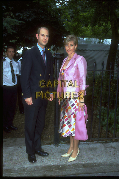 PRINCE EDWARD & SOPHIE OF WESSEX.Ref:9823.sophie rhys jones, royalty, full length, full-length.*RAW SCAN - photo will be adjusted for publication*.www.capitalpictures.com.sales@capitalpictures.com.© Capital Pictures