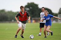 The staff game during day three of the US Soccer Development Academy  Spring Showcase in Sarasota, FL, on May 24, 2009.