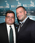 David Gersten and Daniel DeMello attending the Off-Broadway Opening Night Performance After Party for 'Falling' at Knickerbocker Bar & Grill on October 15, 2012 in New York City.