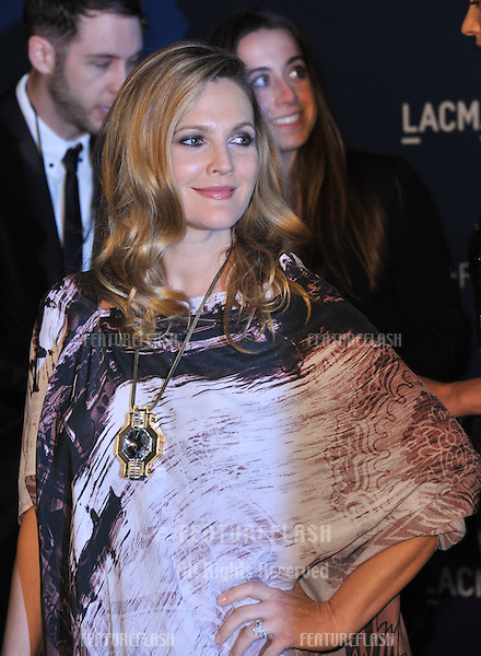 Drew Barrymore at the 2013 LACMA Art+Film Gala at the Los Angeles County Museum of Art.<br /> November 2, 2013  Los Angeles, CA<br /> Picture: Paul Smith / Featureflash
