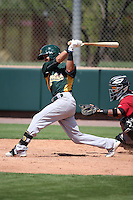 Javier Godard - Oakland Athletics 2016 extended spring training (Bill Mitchell)