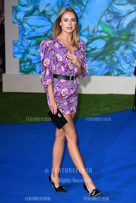 "LONDON, UK. December 12, 2018: Kimberley Garner at the UK premiere of ""Mary Poppins Returns"" at the Royal Albert Hall, London.<br /> Picture: Steve Vas/Featureflash"