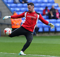 Fleetwood Town's Chris Neal during the pre-match warm-up <br /> <br /> Photographer David Shipman/CameraSport<br /> <br /> The EFL Sky Bet League One - Peterborough United v Fleetwood Town - Friday 14th April 2016 - ABAX Stadium  - Peterborough<br /> <br /> World Copyright &copy; 2017 CameraSport. All rights reserved. 43 Linden Ave. Countesthorpe. Leicester. England. LE8 5PG - Tel: +44 (0) 116 277 4147 - admin@camerasport.com - www.camerasport.com