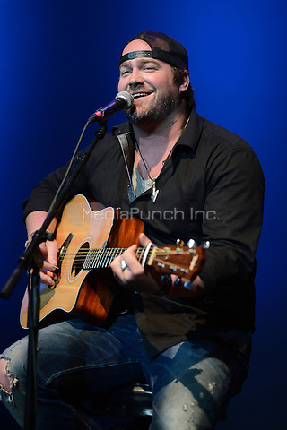 HOLLYWOOD FL - OCTOBER 21 : Lee Brice performs at Hard Rock live during the 99.9 KISS Country Stars N Guitars concert held at the Seminole Hard Rock hotel & Casino on October 21, 2012 in Hollywood, Florida.  Credit: mpi04/MediaPunch Inc.