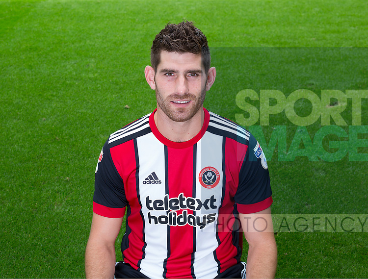 Ched Evans of Sheffield Utd during the 2017/18 Photocall at Bramall Lane Stadium, Sheffield. Picture date 7th September 2017. Picture credit should read: Sportimage