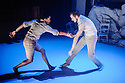 """Choreographer, Hubert Essakow, presents the third work in his elements trilogy, """"Terra"""" at The Print Room, in The Coronet in Notting Hill. Picture shows: Luke Crook, Benjamin Warbis"""