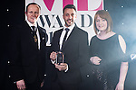 © Joel Goodman - 07973 332324 . 02/03/2017 . Manchester , UK . Law Firm Innovation , JMW Solicitors LLP . The Manchester Legal Awards at the Midland Hotel . Photo credit : Joel Goodman