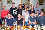 Jessica Hughes, Tralee Celebrating her 24th birthday with family and friends at Bella Bia's on Friday Pictured Front l-r Matthew Hughes, Bryoni  Miller, Katie Hughes, Jamie Hughes, Leslie Hughes Back l-r Dorris Prior, John Greaney, Michelle Hughes, Jessica Hughes, Hayley Hughes, Melanie Hughes Aaron Hughes and David O'Donoghue