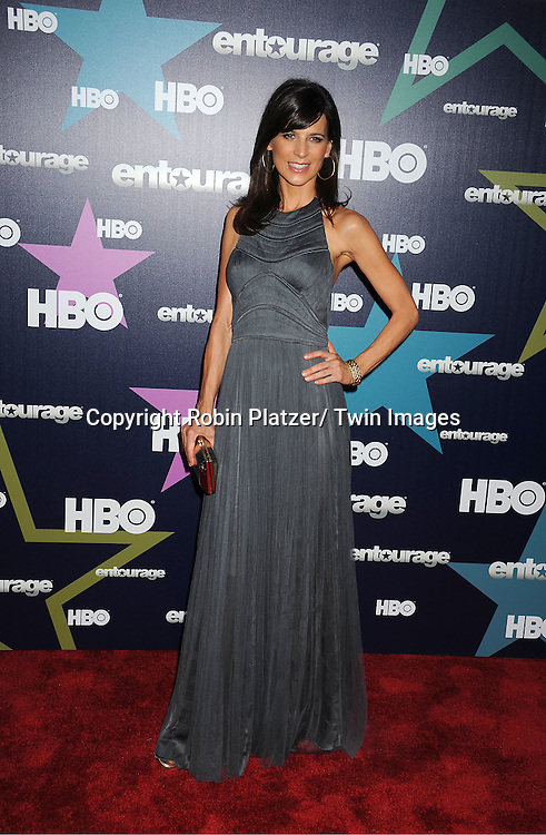 "Perrey Reeves attending The Eighth and Final Season Premiere of the HBO Show ""Entourage"" on July 19, 2011 at The Beacon Theatre in New York City."