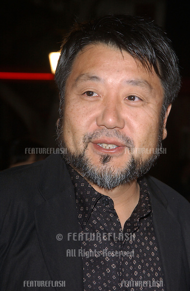 MASATO HARADA at the Los Angeles premiere of his new movie The Last Samurai..December 1, 2003
