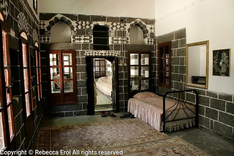 Old Armenian house in the old quarter of Diyarbakir, southeastern Turkey