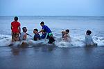 Nagoa Beach is a popular tourist destination in Diu.