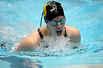 26 MAR 2011:  Catherine Baker of Depauw competes in the consolation final during the Division III Men's and Women's Swimming and Diving Championship held at Allan Jones Aquatic Center in Knoxville, TN. Baker finished first in the consolation final with a time of 2:18.99  David Weinhold/NCAA Photos