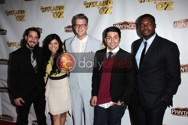 """Pentatonix<br /> at """"The Wizard Of Oz"""" Los Angeles Premiere, Pantages Theater, Hollywood, CA 09-18-13<br /> David Edwards/DailyCeleb.Com 818-249-4998"""