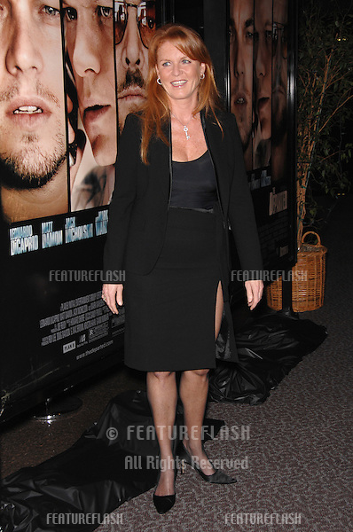 """SARAH FERGUSON, Duchess of York, at an industry screening for """"The Departed"""" at the Directors Guild of America, Los Angeles..October 5, 2006  Los Angeles, CA.Picture: Paul Smith / Featureflash"""