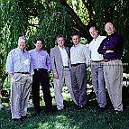 Mike Tanner, Geoffrey Moore, Mark Cavender, Phillip Lay, Paul Wiefels, Tom Kippola - The Chasm Group, editorial, portrait