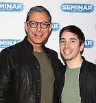 Jeff Goldblum & Justin Long.attending the 'SEMINAR' Come Meet The New Broadway Cast at the Roundabout Reharsal Studios in New York on 3/28/2012
