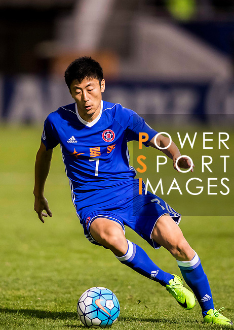 Xu Deshuai of Eastern SC (HKG) in action during the AFC Champions League 2017 Group G match between Eastern SC (HKG) and Kawasaki Frontale (JPN) at the Mongkok Stadium on 01 March 2017 in Hong Kong, China. Photo by Chris Wong / Power Sport Images