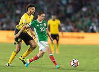 Pasadena, CA - Thursday June 09, 2016: Jesus Duenas during a Copa America Centenario Group C match between Mexico (MEX) and Jamaica (JAM) at Rose Bowl Stadium.