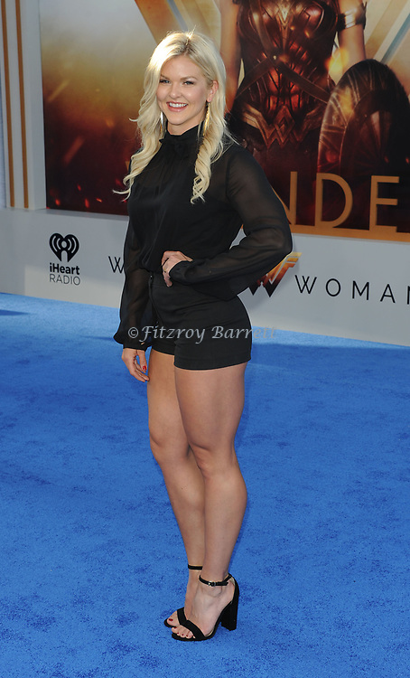 Brooke Ence arriving at the Los Angeles world premiere of Wonder Women, held at the Pantages Theatre Hollywood, California on May 25, 2017