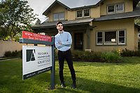 Toby Ellentuck '17, a Media Arts and Culture major, wrote his senior comprehensive paper (comp) on reality television shows and their effect on the housing market in the U.S. Photo taken May 17, 2017 in Pasadena.<br />