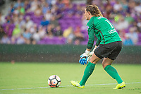 Orlando, FL - Saturday July 01, 2017: Alyssa Naeher  during a regular season National Women's Soccer League (NWSL) match between the Orlando Pride and the Chicago Red Stars at Orlando City Stadium.