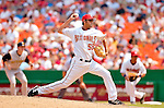30 June 2005: Luis Ayala, pitcher for the Washington Nationals, on the mound during a game against the Pittsburgh Pirates. The Nationals defeated the Pirates 7-5 to sweep the 3-game series at RFK Stadium in Washington, DC.  Mandatory Photo Credit: Ed Wolfstein