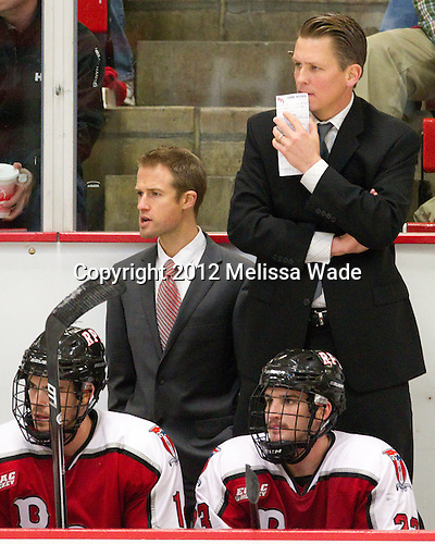 ?, Seth Appert (RPI - Head Coach) - The Harvard University Crimson defeated the visiting Rensselaer Polytechnic Institute Engineers 4-0 (EN) on Saturday, November 10, 2012, at Bright Hockey Center in Boston, Massachusetts.