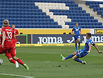 Christoph Baumgartner (TSG 1899 Hoffenheim) erzielt dass 1:0<br /> <br /> Foto: POOLFOTO/Avanti/Ralf Poller/PIX-Sportfotos.<br /> TSG 1899 Hoffenheim-1. FC Koeln.<br /> Sinsheim,  GER, 27.05.2020 , 28. Spieltag , Fussball 1. Bundesliga 2019/2020.<br /> <br /> Sport: Fussball: LIGA: Saison 19/20: TSG 1899 Hoffenheim- 1.FC Koeln, 27.05.2020.<br /> Foto: RALF POLLER/AVANTI/POOL<br /> <br /> Nur für journalistische Zwecke! Only for editorial use! <br /> Gemäß den Vorgaben der DFL Deutsche Fußball Liga ist es untersagt, in dem Stadion und/oder vom Spiel angefertigte Fotoaufnahmen in Form von Sequenzbildern und/oder videoähnlichen Fotostrecken zu verwerten bzw. verwerten zu lassen. DFL regulations prohibit any use of photographs as image sequences and/or quasi-video.