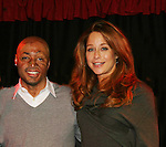 All My Children's J.R. Martinez and Jamie Luner came to see fans on November 22, 2009 at the Brokerage Comedy Club & Vaudeville Cafe, Bellmore, NY for a Q & A, autographs and photos. (Photo by Sue Coflin/Max Photos)