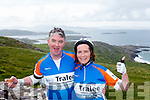 Pat Duffy and Eileen Hayes from Tralee Cyclists at the Ring of Kerry Charity Cycle on Saturday.