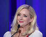 Jane Krakowski on stage during the 2017 Tony Awards Nominations Announcement at The New York Public Library for the Performing Arts on May 2, 2017 in New York City