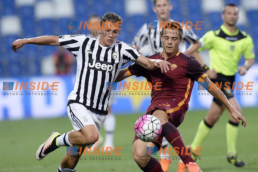 Reggio Emilia 04-06-2016 - finale Campionato Primavera / Roma-Juventus / foto Daniele Buffa/Image Sport/Insidefoto<br /> nella foto: Nicolo' Pozzobon-Silvio Anocic