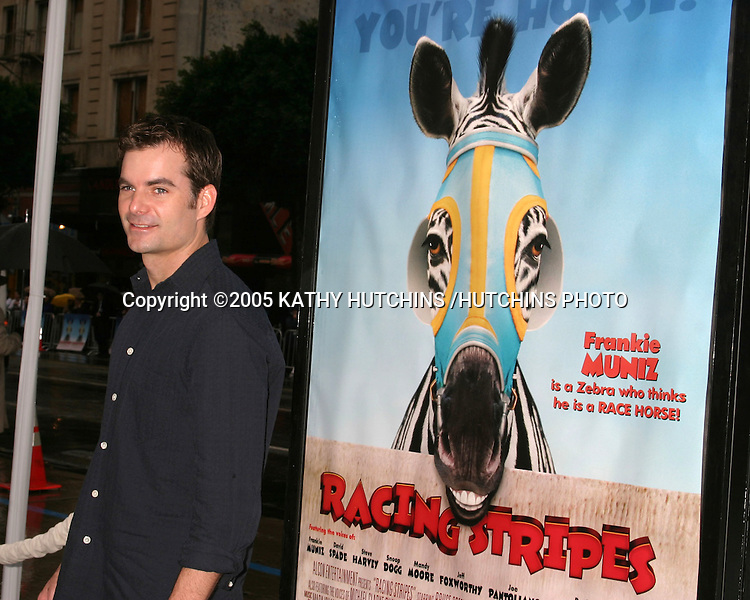 ©2005 KATHY HUTCHINS /HUTCHINS PHOTO.PREMIERE OF RACING STRIPES.GRAUMAN'S CHNESE THEATER.HOLLYWOOD, CA.JANUARY 8, 2005..JEFF GORDON.