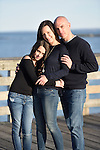 A pre-Bat Mitzvah family portrait shoot at Rye Playland!