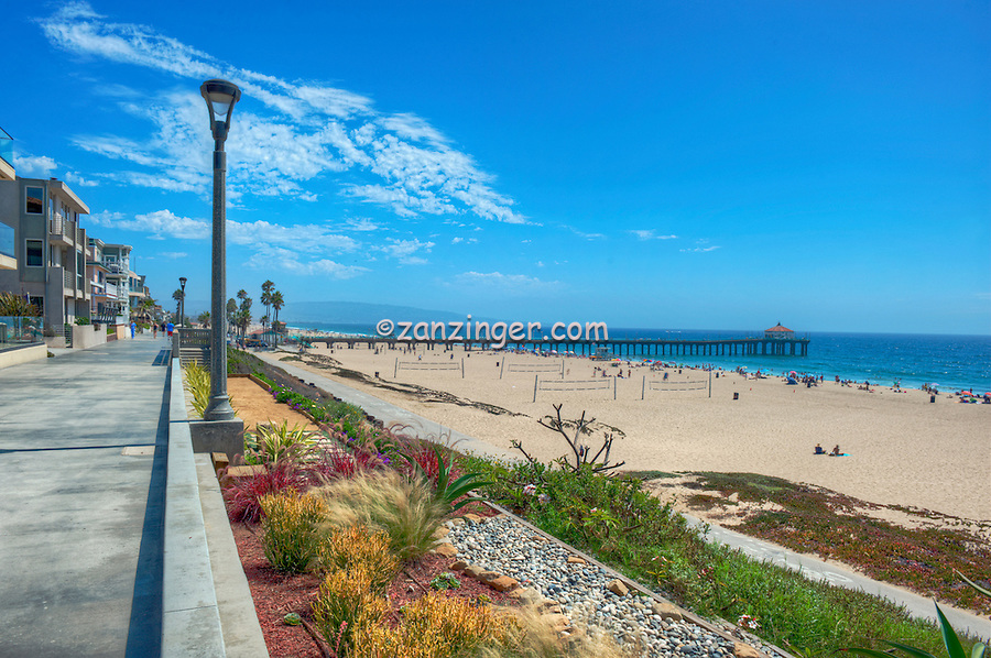 Manhattan, Beach, CA, Walk Streets, Luxury Houses, Strand, Hill, Southwestern, Los Angeles, County, quaint, alleyways, walk, streets, Sand Section