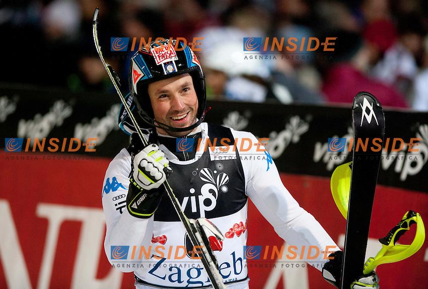 DEVILLE Cristian Italia.5/1/2012 Crveni Spust, Sljeme, Zagabria CROAZIA.Coppa del Mondo di Sci Alpino.Slalom Speciale.Foto Insidefoto / EXPA/ Sportida/ Vid Ponikvar.ITALY ONLY