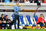 Adi Hütter / Huetter / Hutter (Trainer Eintracht Frankfurt) beim Spiel in der Fussball Bundesliga, TSG 1899 Hoffenheim - Eintracht Frankfurt.<br /> <br /> Foto © PIX-Sportfotos *** Foto ist honorarpflichtig! *** Auf Anfrage in hoeherer Qualitaet/Aufloesung. Belegexemplar erbeten. Veroeffentlichung ausschliesslich fuer journalistisch-publizistische Zwecke. For editorial use only. DFL regulations prohibit any use of photographs as image sequences and/or quasi-video.